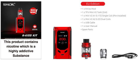 SMOK R-Kiss Full Kit by en-ex