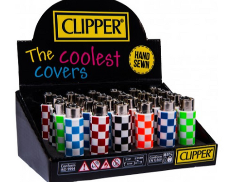 Clipper Covers Squares Design Lighters