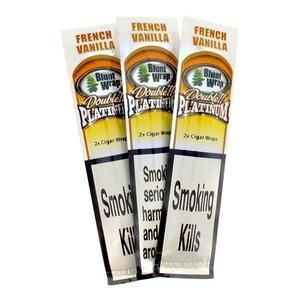 idealaworld,Blunt Wrap Double Platinum; French Vanilla