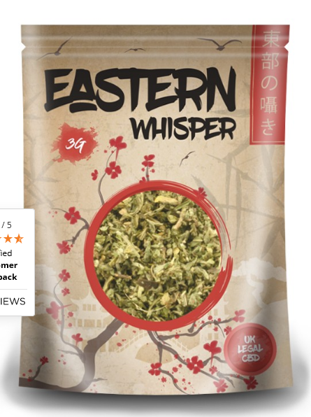 idealaworld,Eastern Whisper 1g CBD - 20% Infused