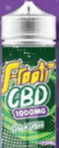 idealaworld,Frooti CBD OG Kush 120ml E-liquid