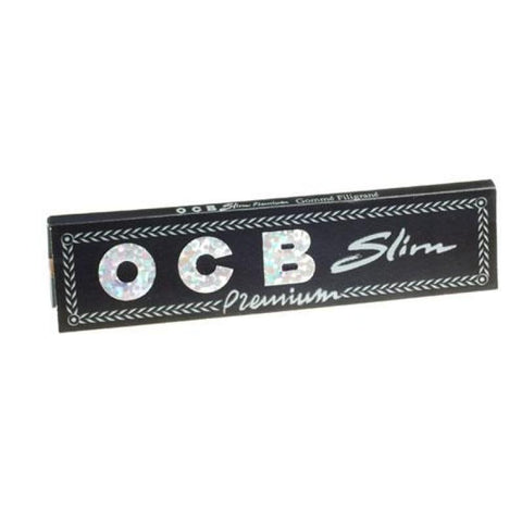 OCB Slim Premium King Size Rolling Papers by en-ex