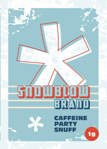 idealaworld,Snow Blow 1g Herbal Energy Caffeine Powder
