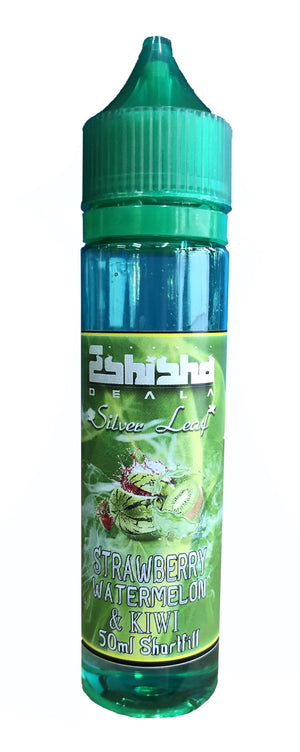 eShishaDeala Silver Leaf Strawberry, Watermelon & Kiwi 50ml E-Liquid