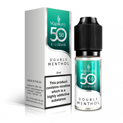 idealaworld,Vapouriz Double Menthol 10ml E-liquid