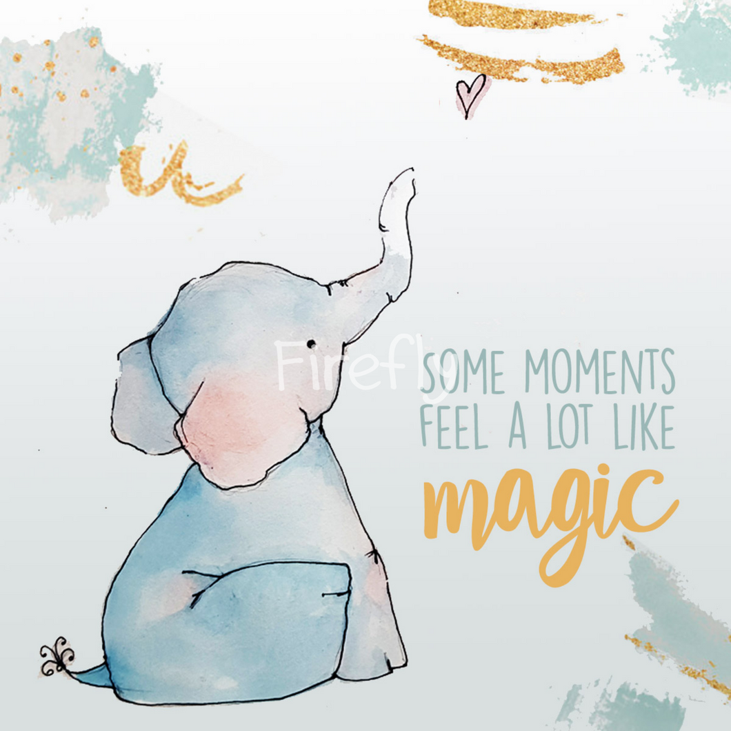 Baby Elephant - Magic Magnet