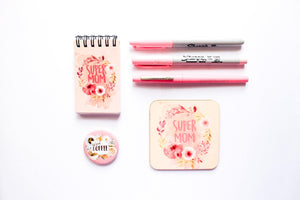 Super Mom Notepad - Firefly