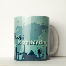 Load image into Gallery viewer, All that Glitters is Wanderlust Mug