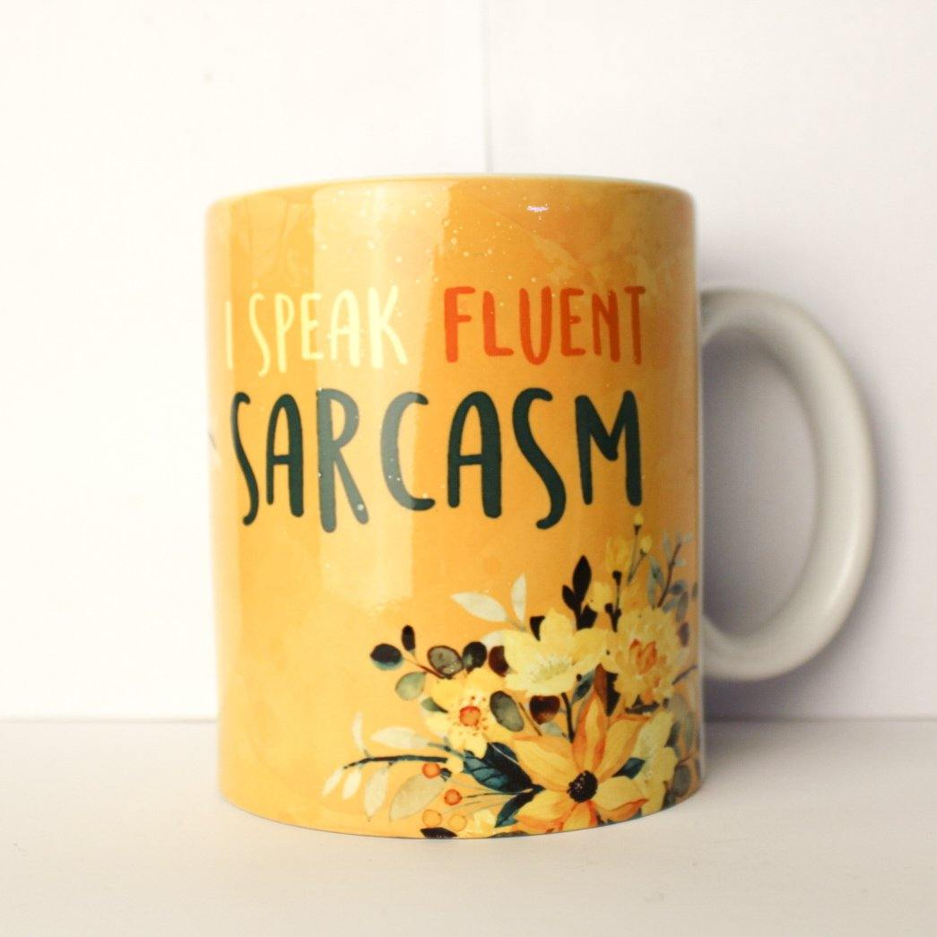 I Speak Fluent Sarcasm Mug - Firefly