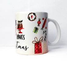 Load image into Gallery viewer, This Girl Loves Christmas Mug - Festive