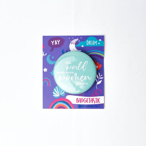 Women Like You - Seagreen Badge - Firefly
