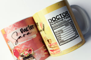 Dacter - Nutritional Facts Mug