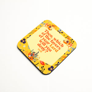 Which of the Favors Coaster