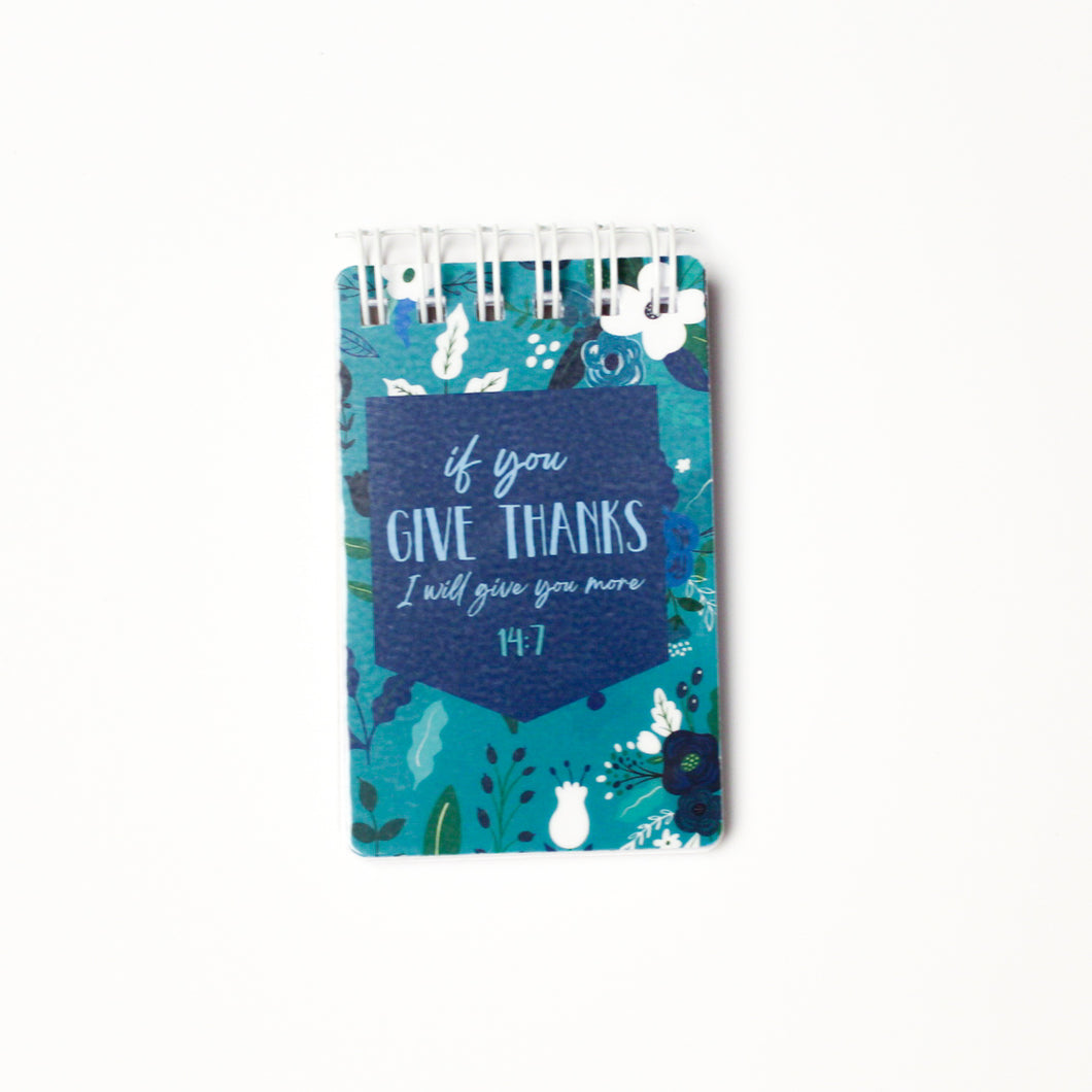 Give Thanks Notepad