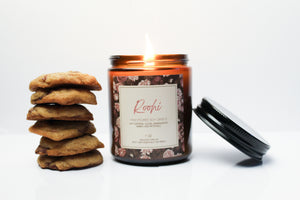 Roohi Candle  x Cookie Combo