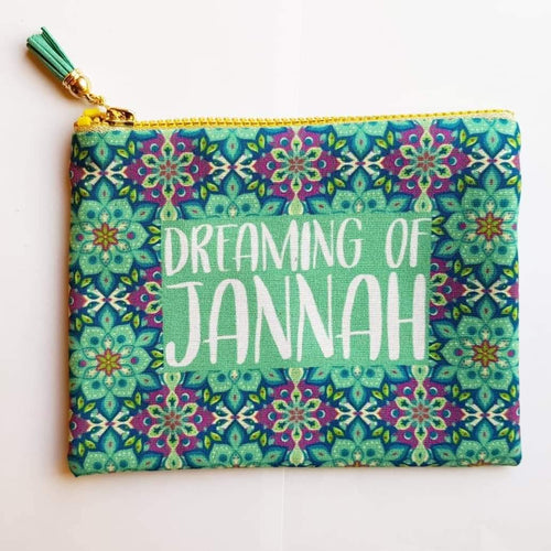 Dreaming of Jannah Zipper - Firefly
