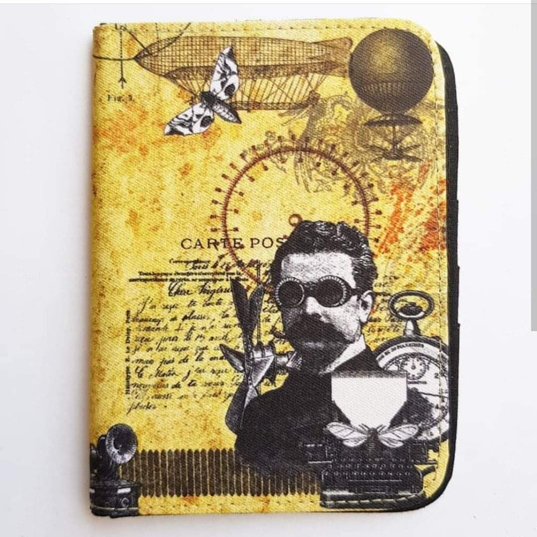 Steampunk Passport Cover