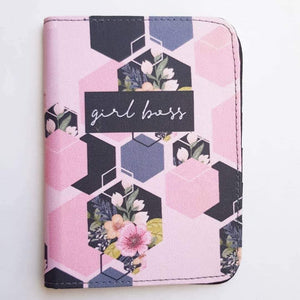 Girl Boss Pink Passport Cover