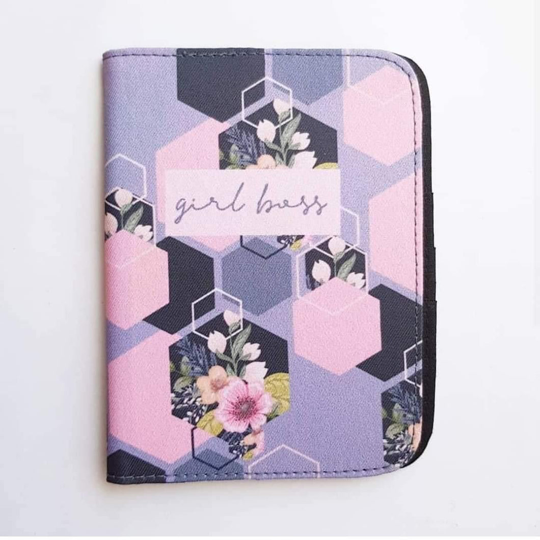 Girl Boss Mauve Passport Cover - Firefly