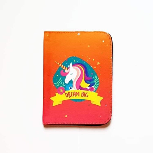 Dream Big Unicorn Passport Cover