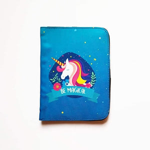 Be Magical Unicorn Passport Cover - Firefly