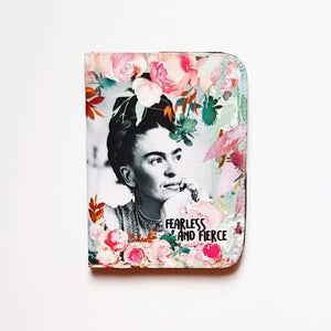 Fearless - Frida Kahlo Passport Cover - Firefly