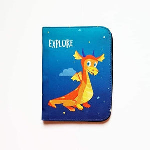 Explore Dragon Passport Cover