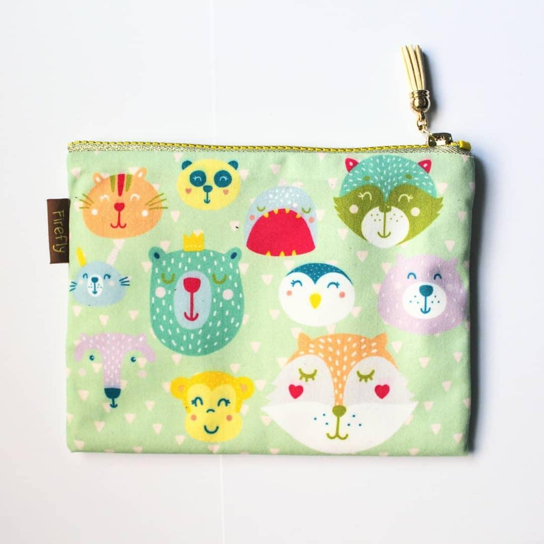 Cute Critters Zipper