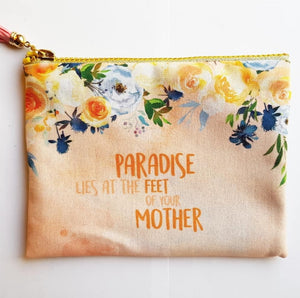 Paradise Peach Zipper