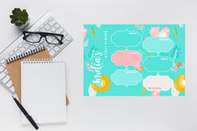 Load image into Gallery viewer, Pastel Doodles Dry Erase Planner