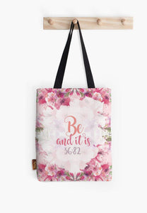 Be, and it is Tote
