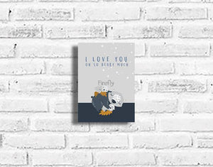 I Love You Beary Much Plaque - Firefly