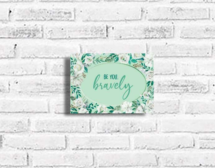 Be you, Bravely Plaque - Firefly