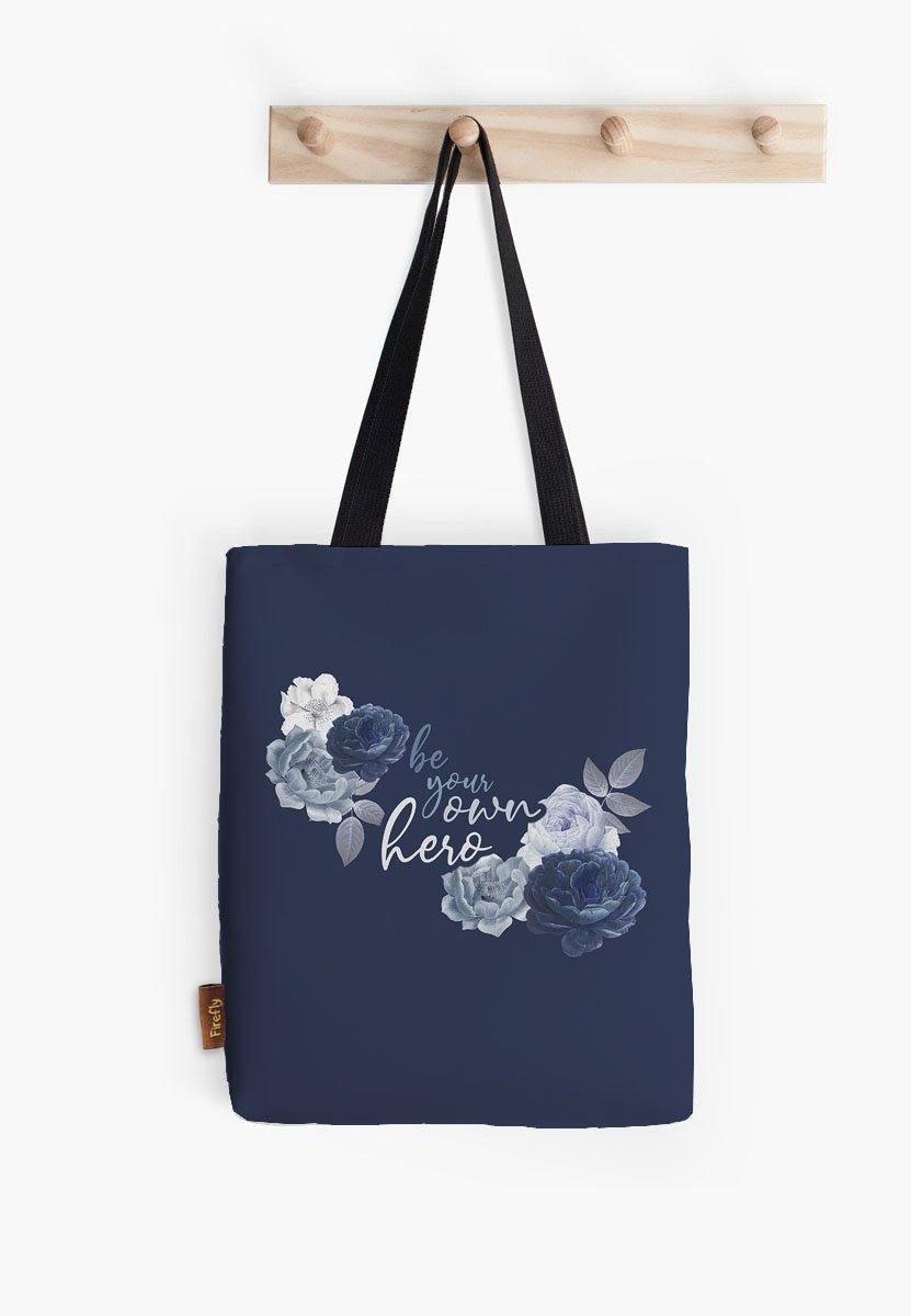 Be Your Own Hero Tote - Firefly