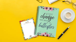 Without Change Notebook - Firefly