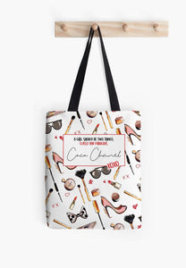 Classy and Fabulous Tote - Firefly