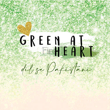 Green at Heart Magnet