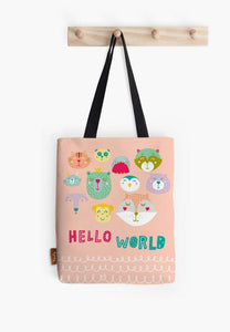 Hello There Tote - Firefly