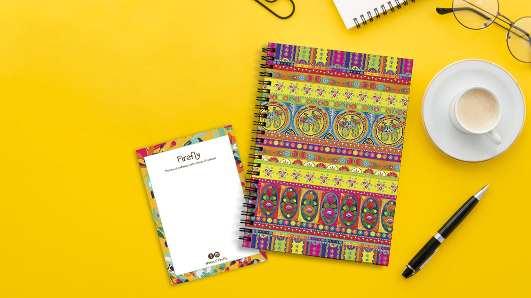 Gulabo Notebook - Firefly