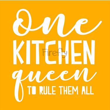 One Kitchen Queen to Rule Them All Magnet