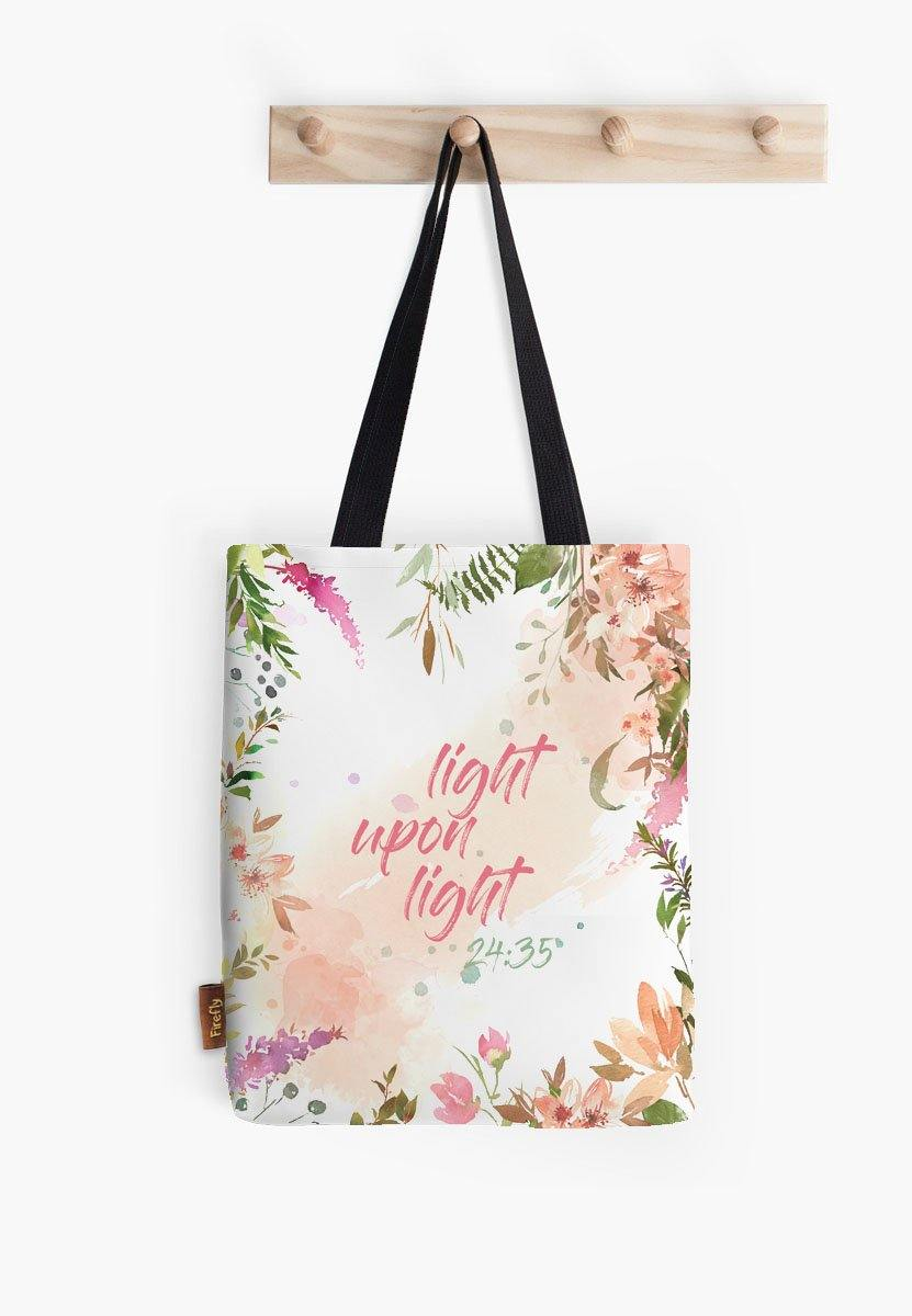 Light Upon Light Tote - Firefly