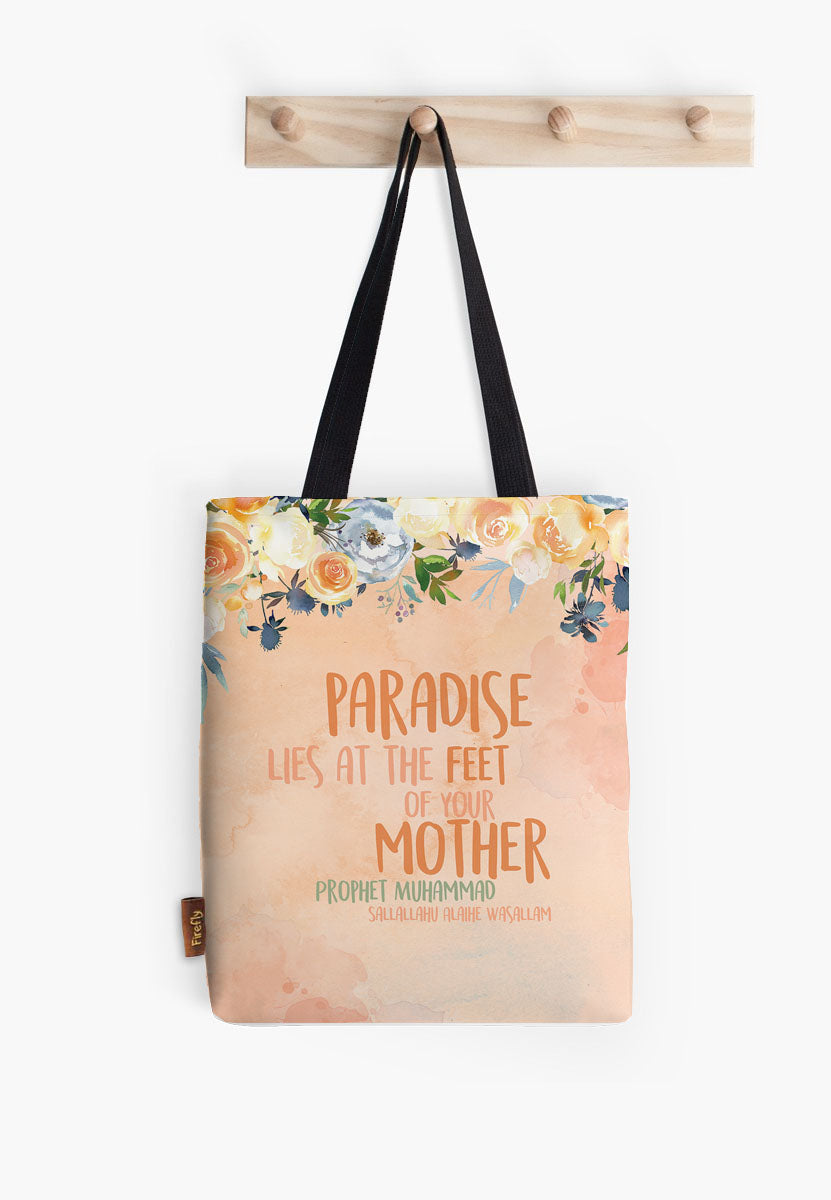 Paradise - Mother Peach Tote