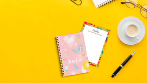 Pastel Doodles Mini Notebook