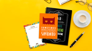 Superhero Postcard