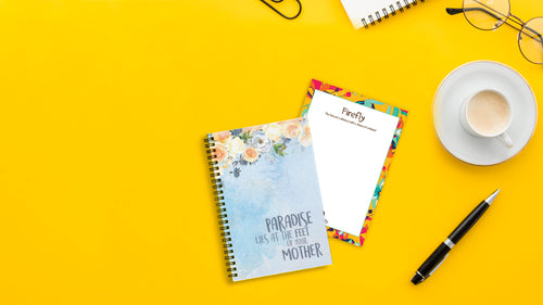 Paradise Blue Mini Notebook