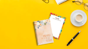 Paradise Peach Mini Notebook