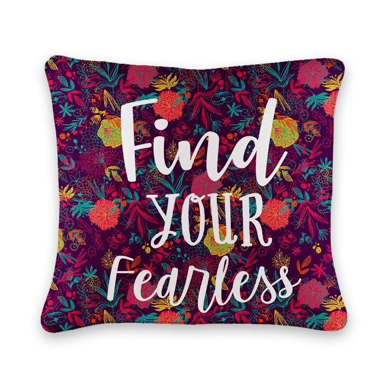 Find your Fearless Cushion Cover - Firefly