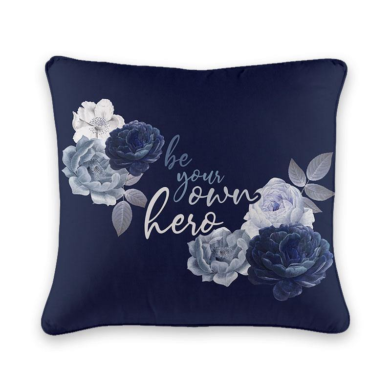 Be your own Hero Cushion Cover - Firefly