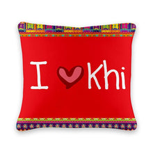 Load image into Gallery viewer, I ❤ Khi Cushion Cover - Firefly
