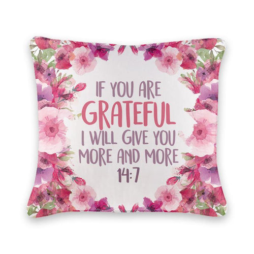 Grateful Cushion Cover - Firefly
